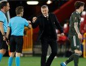 سولشاير يعدد مكاسب فوز مانشستر يونايتد على غرناطة فى الدوري الاوروبي