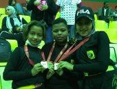 3 أشقاء يحصلون على المركز الأول في بطولة مصر المفتوحة لرياضة الكيك بوكس