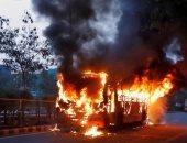 سلطات الكونغو تعلن احتراق 40 راكبا فى انقلاب حافلة