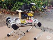 الكشف عن روبوت يسير على الحبال ويتزلج ويطير