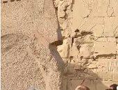 كل ما تريد معرفته عن أكبر جدارية مكتشفة فى التاريخ بالأقصر