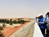 محافظ أسوان: تأهيل وتبطين 211 كيلو متر من الترع بتكلفة 500 مليون جنيه