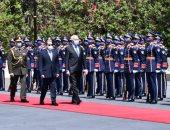 الرئيس السيسى: ناقشت مع رئيس تونس تحقيق التنمية الشاملة ومكافحة الإرهاب