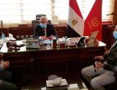 محافظ بورسعيد يؤكد على توافر بروتوكولات علاج فيروس كورونا