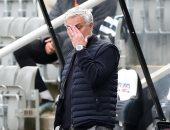مورينيو يسجل رقما سلبيا بعد سقوط توتنهام ضد مان يونايتد