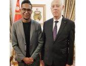 سيف الجزيري يلتقي الرئيس التونسي قيس سعيد على هامش زيارته لمصر.. صور