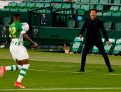 سيميوني يشرح أسباب التعادل ضد ريال بيتيس في الدوري الاسباني