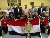 مصر تحصد المركز الأول وكأس بطولة أفريقيا للكيك بوكسينج في الكاميرون