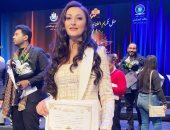 """السوبرانو أميرة سليم مغنية أنشودة """"العظمة"""": بهدى تكريمى لكل أهل بلدى.. صور"""