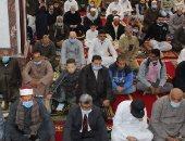 قارئ يشارك بصور لافتتاح أحد المساجد بالدقهلية استعداد لشهر رمضان