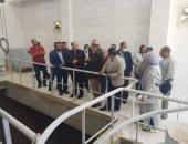 نائب محافظ الجيزة يوجه بسرعة تنفيذ محطة رفع أبورجوان للصرف الصحى بالبدرشين