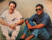 أحمد الفيشاوى عن صورة لوالده مع أحمد زكى: تعبر عن الحب والزمالة الحقيقية