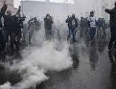 اشتباكات عنيفة بين الشرطة والمتظاهرين فى إيطاليا خلفت العديد من المصابين