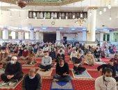 شاهد.. المصلون يؤدون صلاة التراويح فى أول أيام شهر رمضان المبارك
