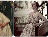 شريهان تتألق بفستان miss dior الأيقوني..صمم عام 1949 ويضم أكثر من 1000 زهرة حريرية