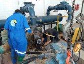 مياه القناة: صيانة محطات القنطرة الكبرى والصغرى استعدادا لفصل الصيف