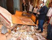 تفاصيل مصرع 3 أشخاص وإصابة 2 فى انهيار منزل بميت غمر بالدقهلية.. فيديو
