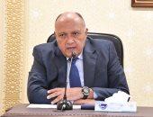 وزير الخارجية يسلم رئيس الاتحاد الإفريقى رسالة من الرئيس السيسى