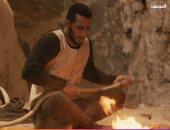 """محمد رمضان يصور """"موسى"""" فى الحى الشعبى بمدينة الإنتاج الإعلامى"""