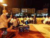 رمضان فى قلب الحضارة.. سهرة رمضانية مبهرة على طريق الكباش بالأقصر (فيديو)