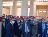 وزير التموين ومحافظ كفر الشيخ يتفقدان المركز التموينى المطور وجهاز حماية المستهلك
