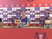 أتلتيك بيلباو ضد برشلونة.. تير شتيجن: تعلمنا من درس السوبر وجاهزين للفوز