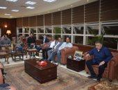 محافظ البحر الأحمر يلتقى أعضاء مجلسى النواب والشيوخ بحضور زعيم الأغلبية البرلمانية