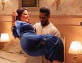"""محمد رمضان وسمية الخشاب في صور جديدة من مسلسل """"موسى"""""""