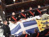 حساب العائلة الملكية البريطانية يكشف عن صور جديدة من جنازة دوق إدنبرة اليوم