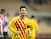 ليونيل ميسي الوحيد الذى أحرز أكثر من 30 هدفا فى 9 مواسم بالدوري الإسباني