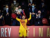 ميسي يوافق على تخفيض راتبه 50% لتجديد عقده مع برشلونة