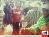 تليفزيون اليوم السابع يعرض لقطات حقيقية من فض اعتصام رابعة