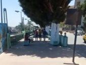 ارتفاع طفيف فى درجات الحرارة ومواطنون يستظلون بأشجار كورنيش النيل بأسيوط.. فيديو