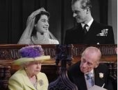 الملكة إليزابيث والأمير فيليب من سعادة حفل الزفاف إلى حزن يوم الوداع.. صور