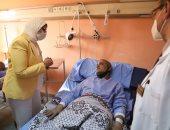 وزيرة الصحة تُطمئن أهالى المصابين فى حادث قطار طوخ وتؤكد توفير كافة سبل رعايتهم