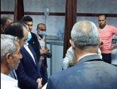 محافظ القليوبية يتفقد حالة المصابين بمستشفى بنها الجامعى.. فيديو