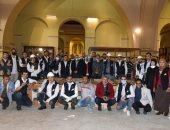 المتحف المصرى الكبير يستقبل المقصورة الثالثة للملك الذهبى توت عنخ آمون.. صور