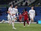 ليفربول يتفوق على ليدز 1-0 فى الشوط الأول تحت أنظار صلاح.. فيديو
