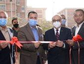 رئيس جامعة أسيوط يفتتح صالات مجمع الإسكواش بعد انتهاء تطويرها