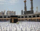 أداء آخر صلاة جمعة من شهر رمضان المبارك بالمسجد الحرام