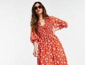 أحدث تصميمات الفساتين فى ربيع وصيف 2021.. فلورى وميدى وكاروهات