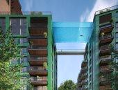لندن على موعد مع أول حمام سباحة معلق وشفاف فى العالم مايو المقبل..اعرف القصة