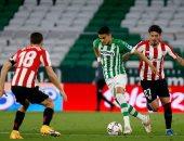 بيتيس بعشرة لاعبين يتعادل مع أتلتيك بيلباو فى الدوري الإسباني
