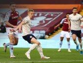"""أستون فيلا ضد مان سيتي.. ماكجين يسجل الهدف الأسرع في الدوري الإنجليزي """"فيديو"""""""