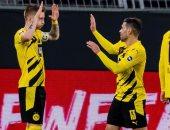 دورتموند يتخطى يونيون برلين بثنائية فى الدوري الألماني.. فيديو