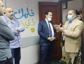 رئيس حى غرب المنصورة يداهم سنتر للدروس الخصوصية ويحرر محضر ضده.. صور