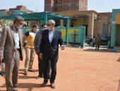 محافظ القليوبية يتابع المشروعات وأعمال النظافة والاشغالات والتعديات بـ3 مدن