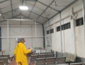 تطهير المؤسسات الحكومية والمستشفيات ودور العبادة لمواجهة كورونا ببورسعيد