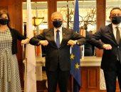 اتفاق وزراء مصر واليونان وقبرص على تعاون بين شباب البرلمانيين للدول الثلاث