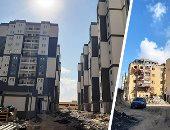 مشروع مساكن سندوب بالمنصورة يغير شكل المنطقة ويحولها من عشوائية لجاذبة.. 35 برجا سكنيا اجتماعيا واستثماريا للأهالى.. وإعادة 240 أسرة من المستحقين خلال الفترة القادمة والتكلفة 2.4 مليار جنيه.. صور